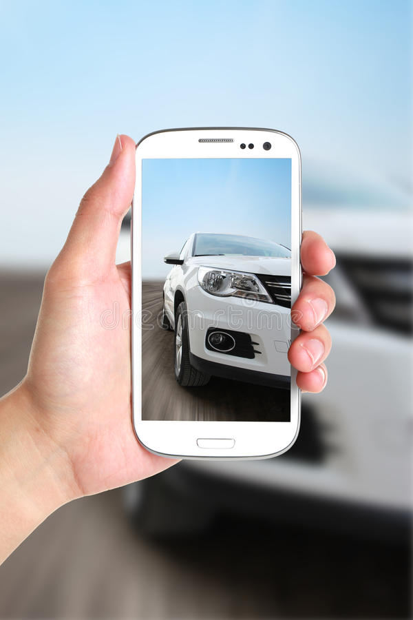 Prenez la voiture de photo photos libres de droits