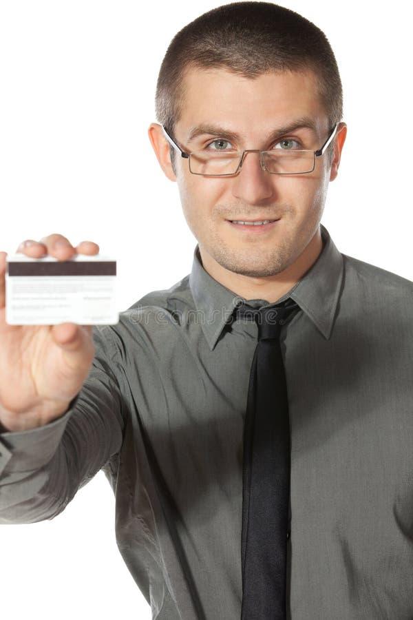 Prenez le par la carte de crédit photo stock