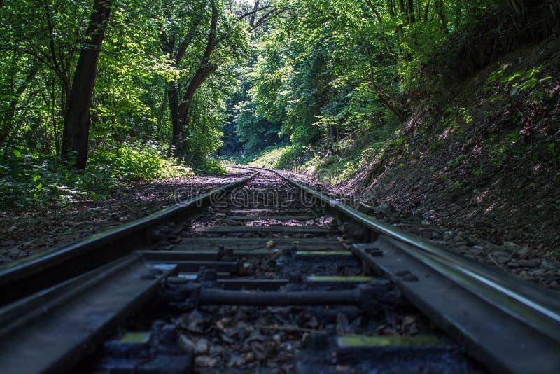 Prenez le train et levez-vous au dessus photos stock