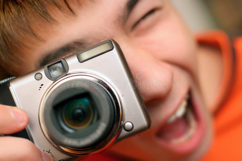 Prenez une photo photographie stock