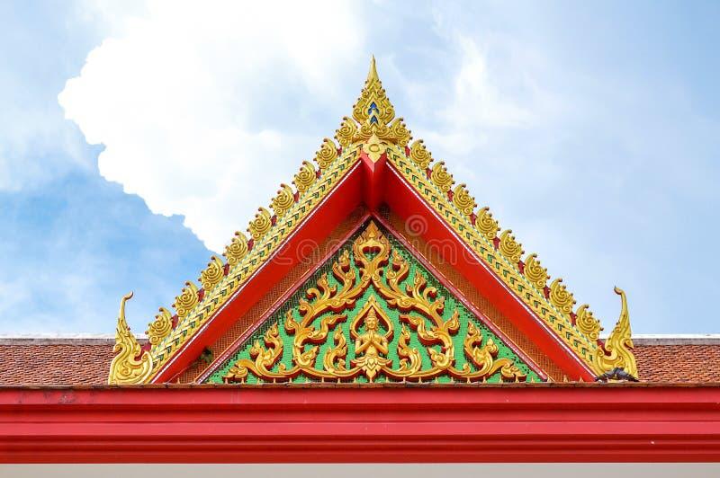 Preng de Wat no prakarn Tailândia do samut foto de stock royalty free