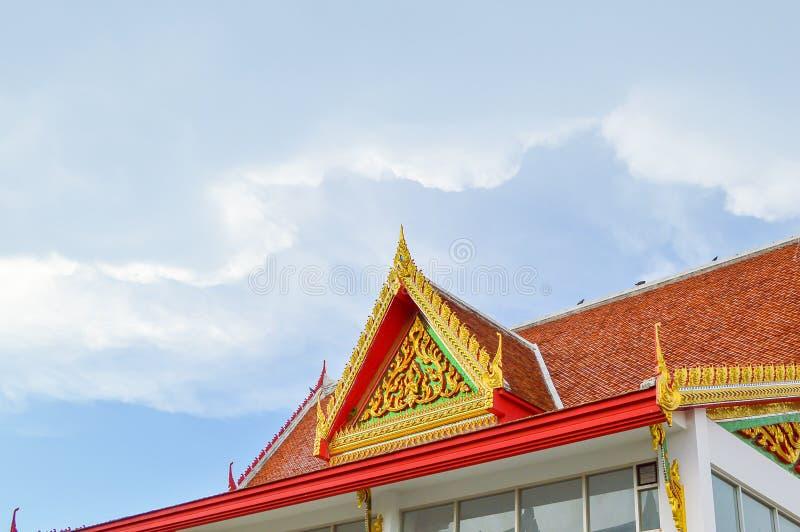 Preng de Wat no prakarn Tailândia do samut imagem de stock