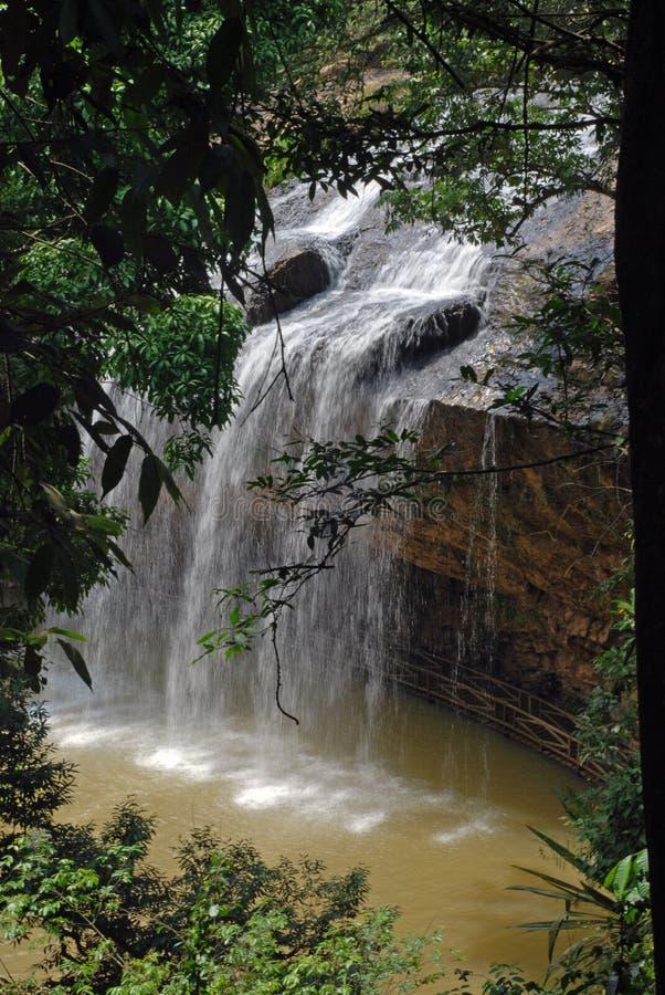 Prenn Waterfalls, Dalat, Vietnam royalty free stock photography