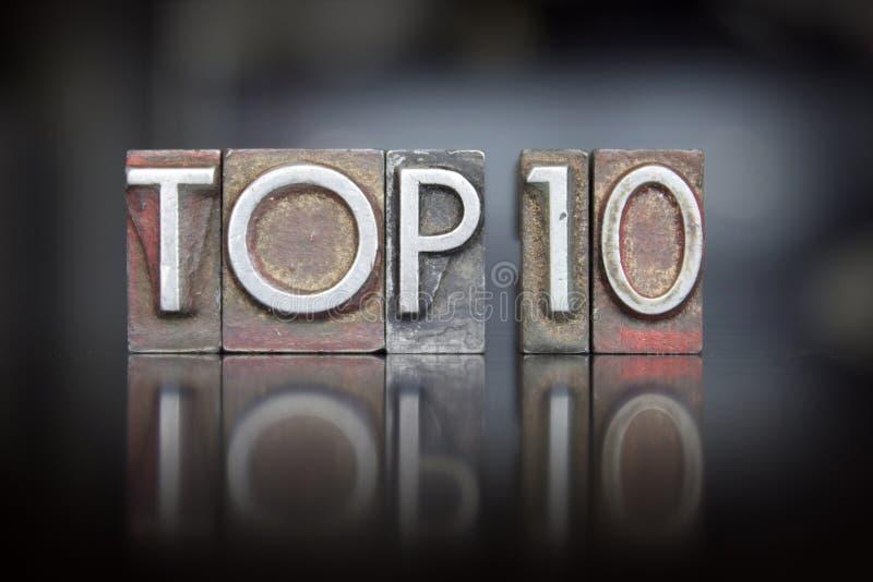 Prensa de copiar del top 10 fotos de archivo