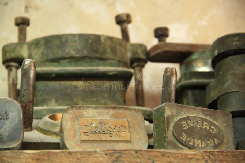 Prensa del jabón fotos de archivo libres de regalías