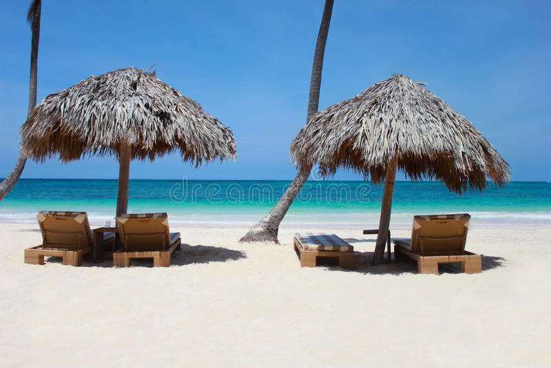 Prentbriefkaar van Punta Cana royalty-vrije stock foto's