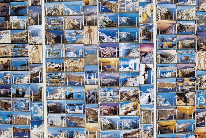 Prentbriefkaaren voor Verkoop stock foto