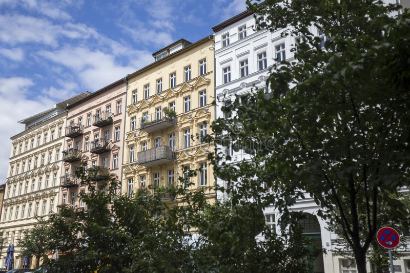 Prenzlauer berg east berlin germany royalty free stock photography