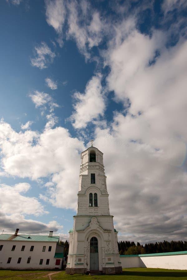 preobrazhenskiy spaso för belltowerdomkyrka royaltyfria bilder