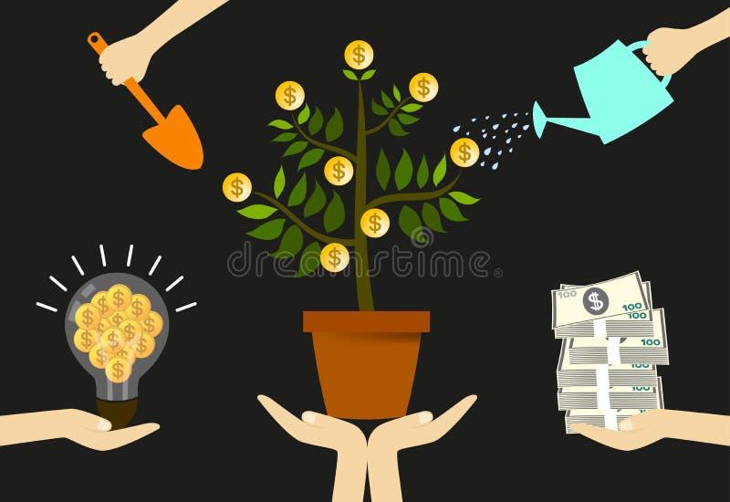 Preoccupi il vostro finanziamento illustrazione di stock