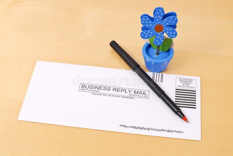 Prepaid Mail Royalty Free Stock Photo