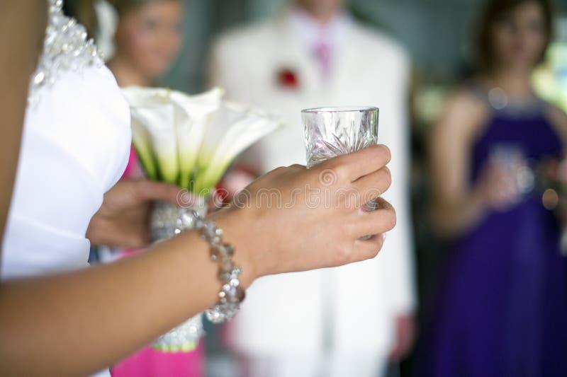 Preparação da noiva fotos de stock royalty free