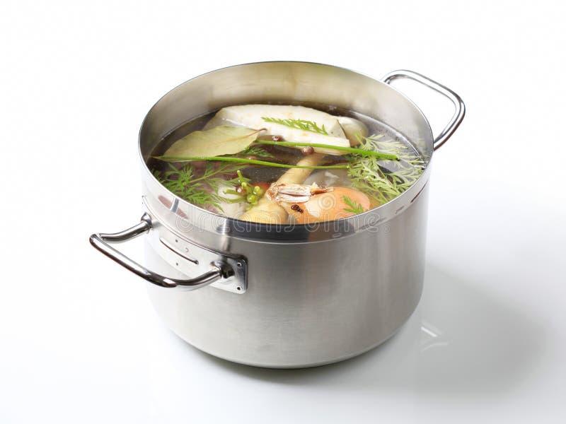 Preparação da sopa imagens de stock royalty free