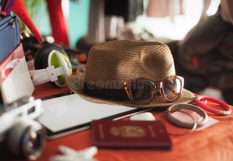 Preparação das férias de verão imagem de stock royalty free