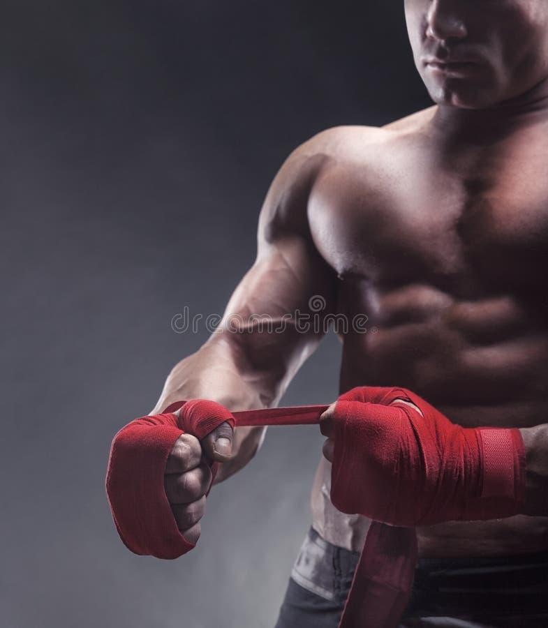 Preparação de combate imagem de stock royalty free