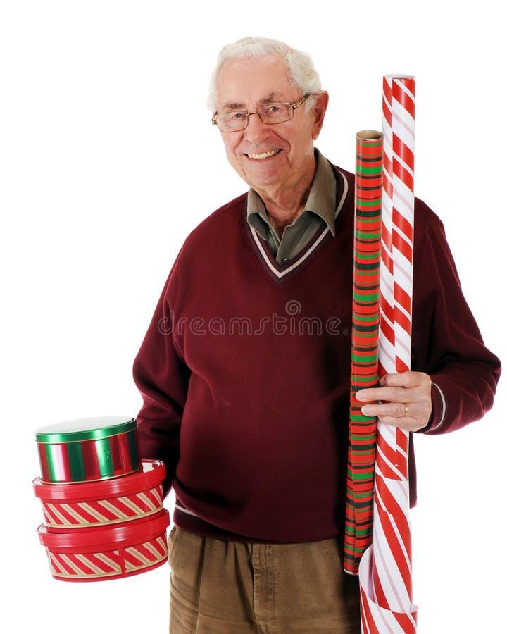 Preparação do Natal fotografia de stock