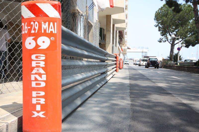 Preparação grande 2011 da trilha de Prix F1 foto de stock royalty free