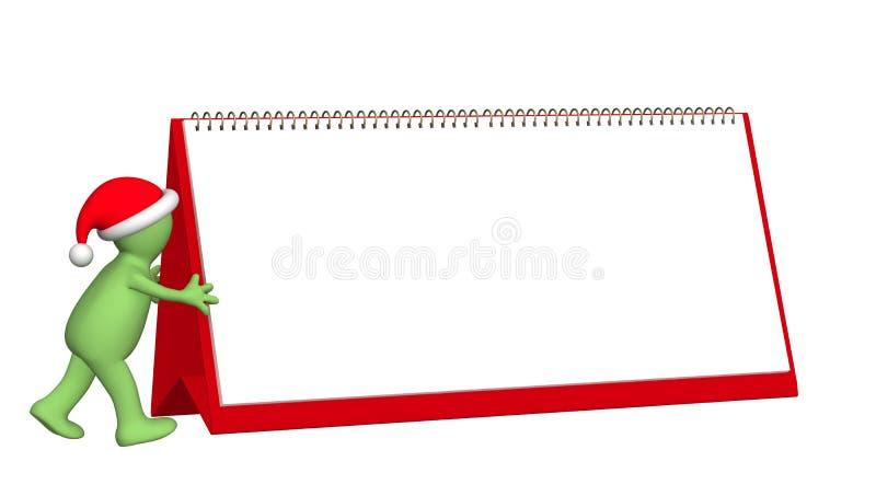 Preparação para o Natal ilustração do vetor