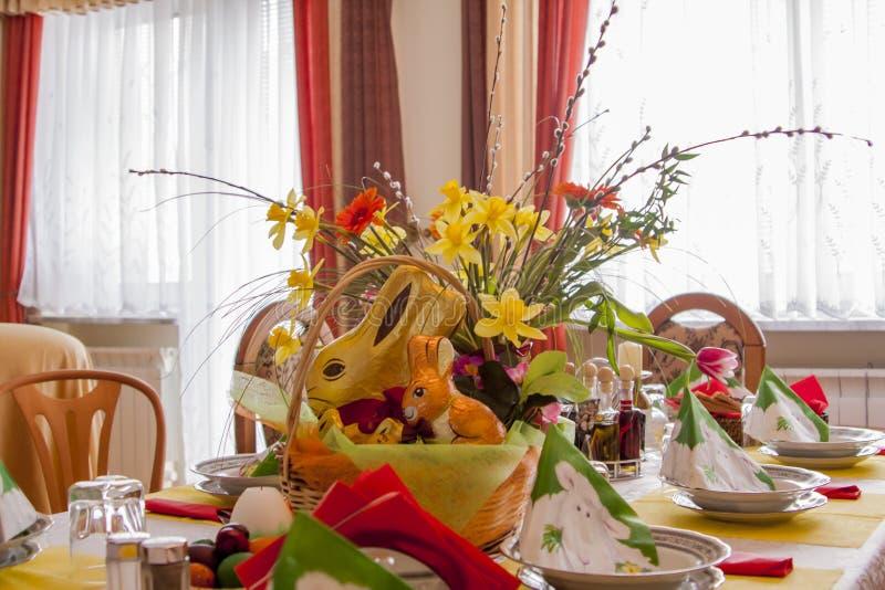 Preparação para a Páscoa, fotografia de stock