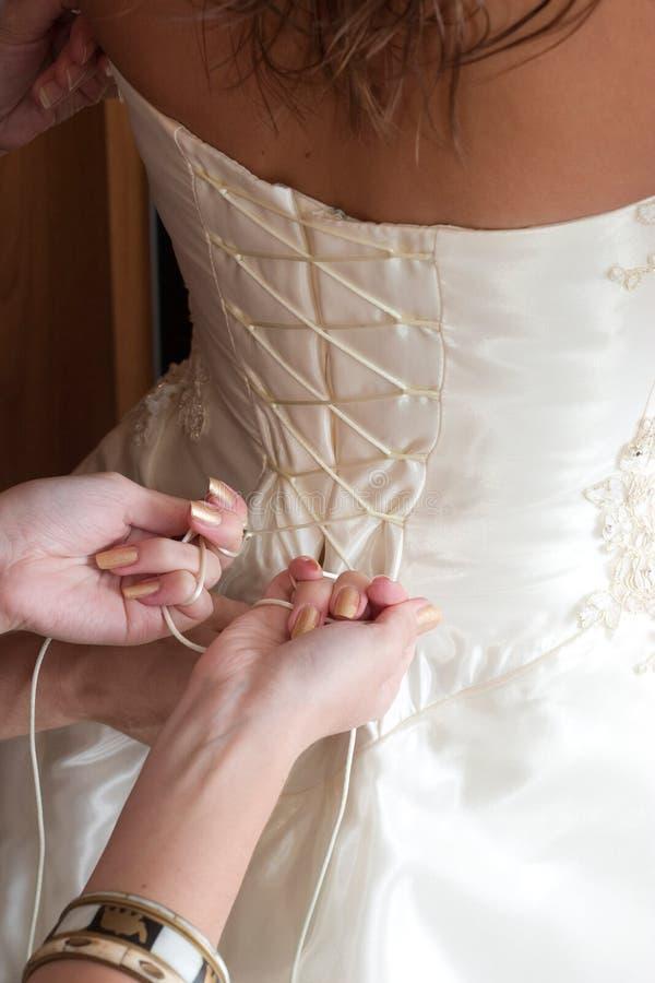 Preparación a la boda fotografía de archivo libre de regalías