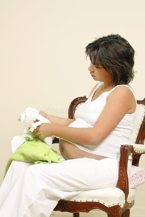 Preparación Para El Bebé Fotografía de archivo libre de regalías