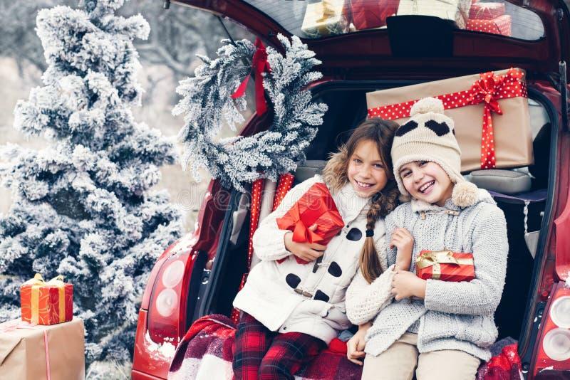 Preparaciones de la Navidad foto de archivo