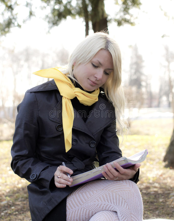 Preparation For Examinations Stock Image
