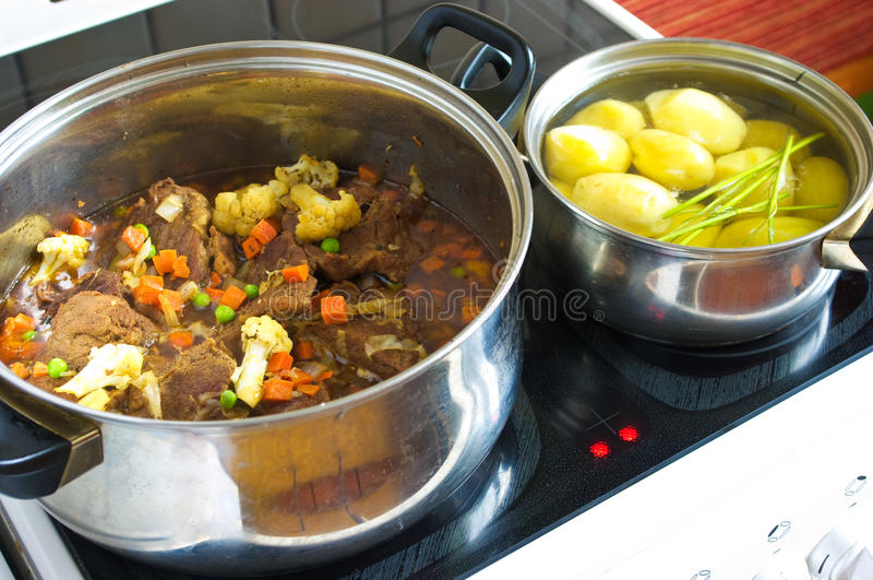 Preparation the fricassee