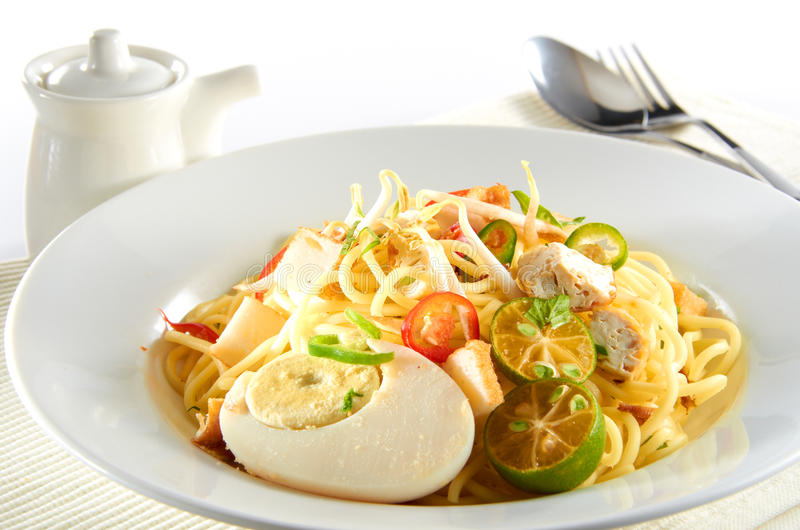 Download Preparation Of Mee Jawa stock image. Image of dish, style - 23051689