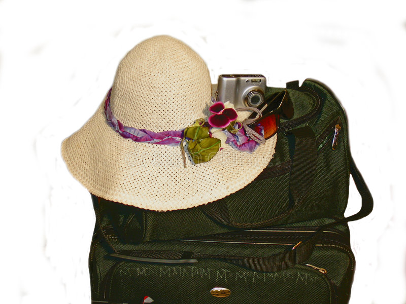 Preparation for vacation stock photo