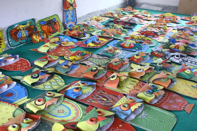 Preparations for Pohela Boishakh Bengali New Year in Dhaka. stock photos