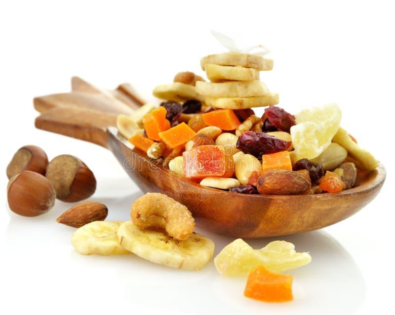 Preparato asciutto della frutta immagine stock