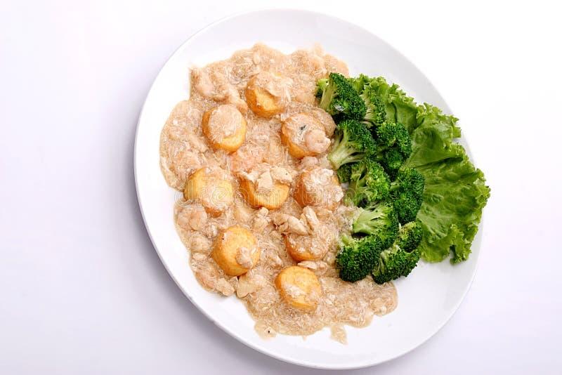 Download Preparato Bollito Dell'uovo Di Scramble Con Carne Immagine Stock - Immagine di piatto, cuisine: 7318977