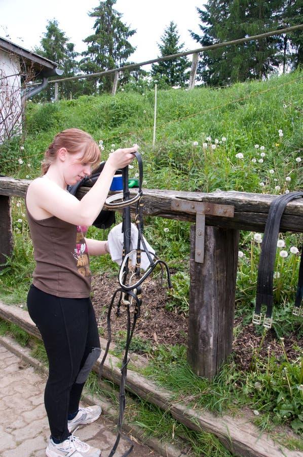 Preparazione del cablaggio. fotografie stock