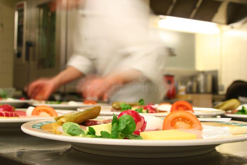 Preparazione dell'alimento sano fotografie stock libere da diritti