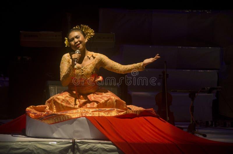 PREPARAZIONE DELL'INDONESIA SUL PIANO DI SALTO DI TURISMO fotografie stock