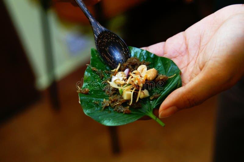Preparazione della cucina della Tailandia immagini stock libere da diritti
