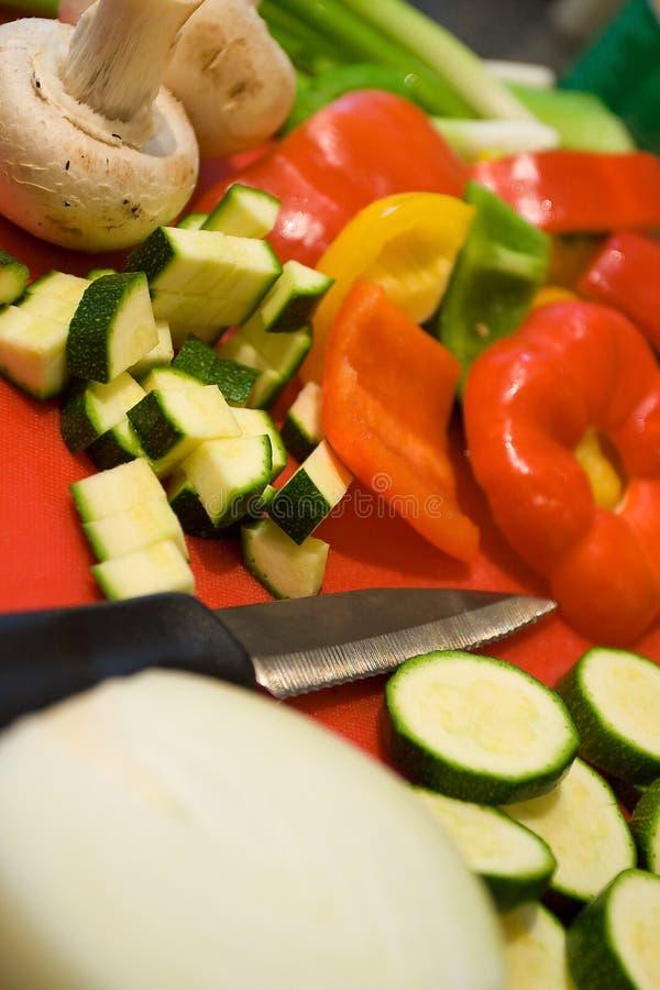 Preparazione di alimento immagini stock