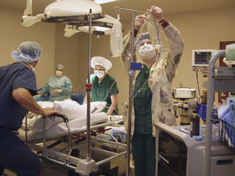 Preparazione per chirurgia immagine stock libera da diritti
