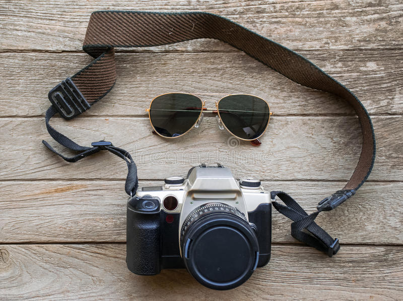 Preparazione per il viaggio, vacanza di viaggio, fotografia stock libera da diritti