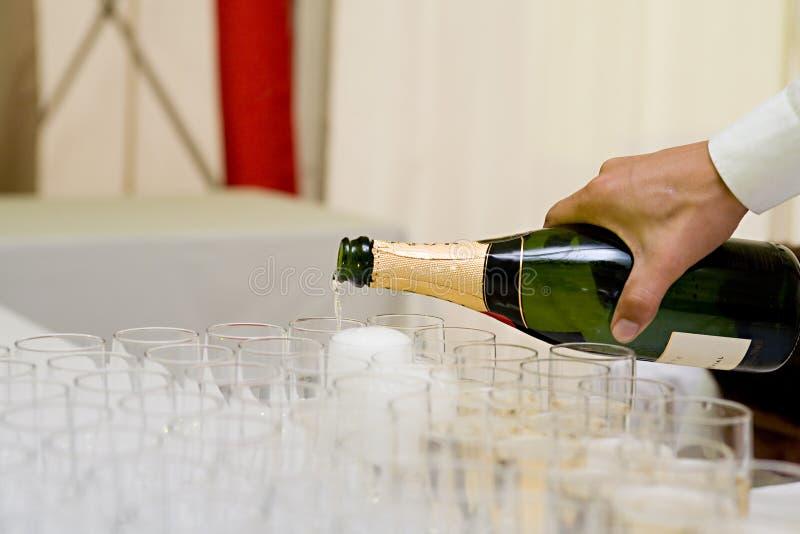 Preparazione Per Una Celebrazione Immagine Stock Gratis