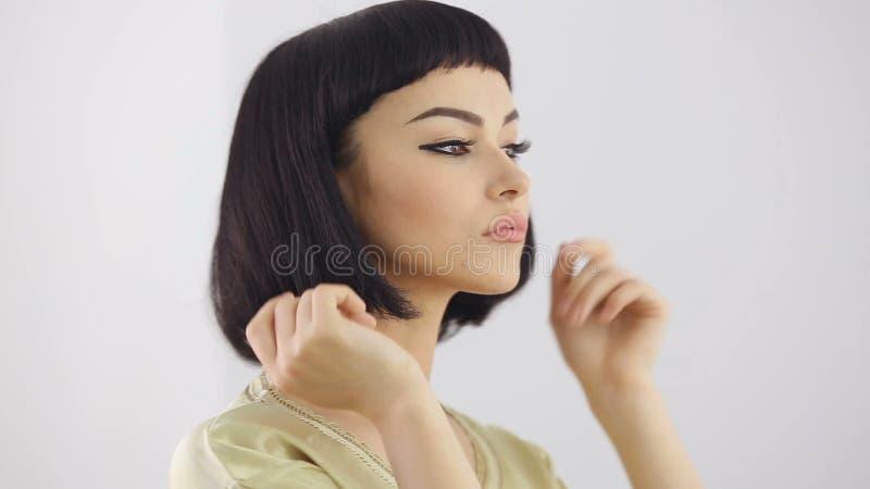 Taglio capelli cleopatra