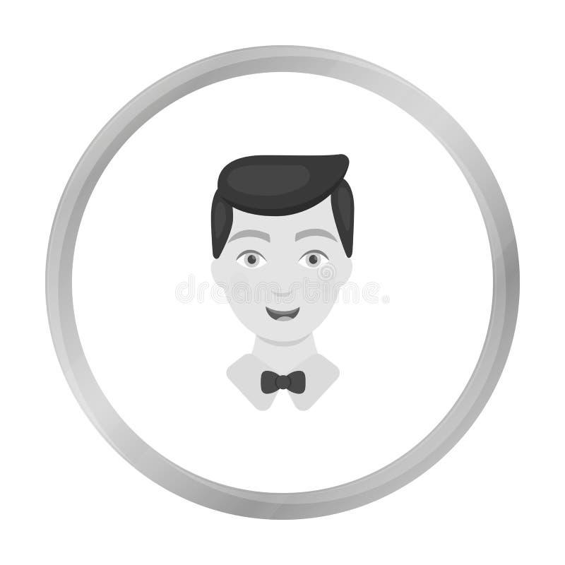Prepare el icono del hombre del ejemplo del vector para el web y el móvil libre illustration