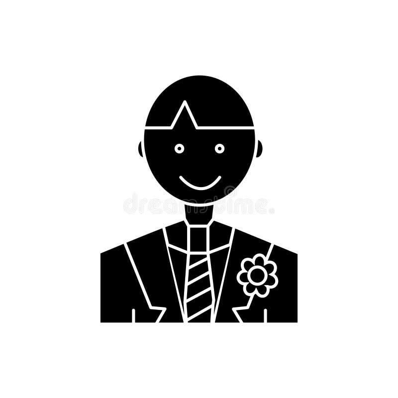 Prepare el icono, ejemplo del vector, muestra en fondo aislado ilustración del vector