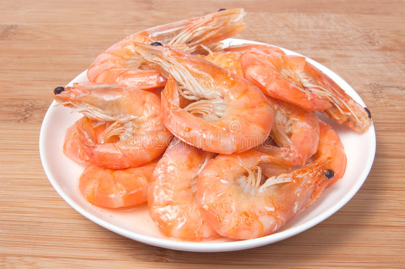 Download Prepared Shrimps On Plate Royalty Free Stock Images - Image: 11186699