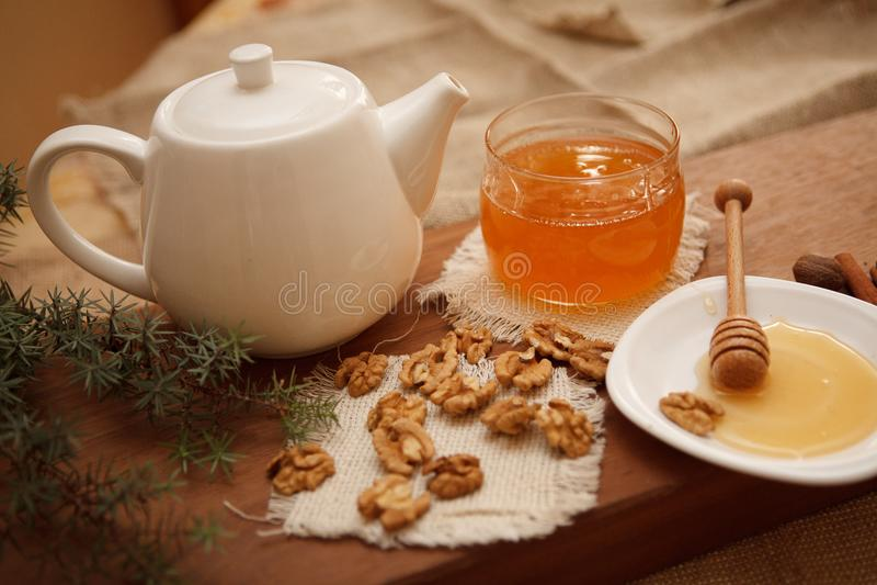 Prepari i biscotti saporiti Concetto 'nucleo familiare' fotografia stock