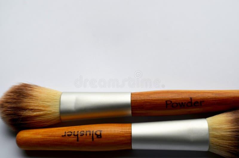Prepari le spazzole fotografia stock libera da diritti