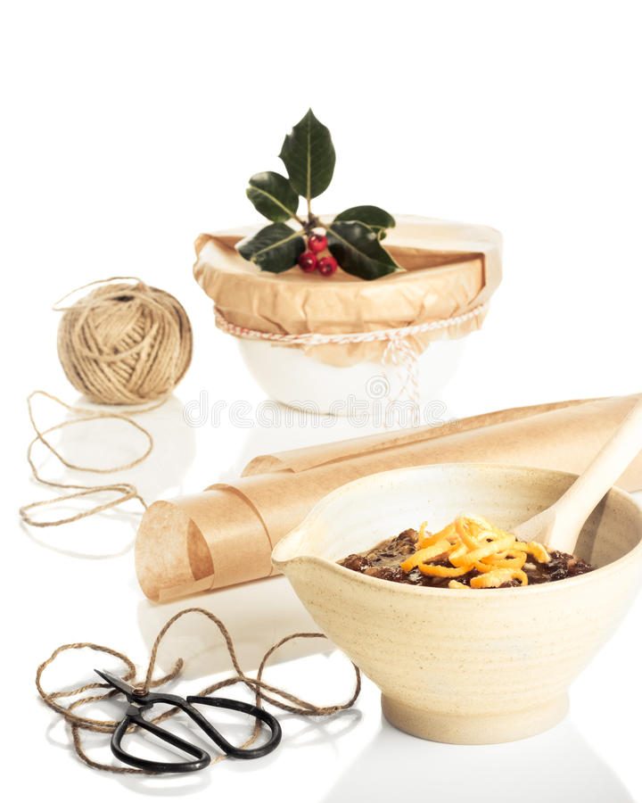 Download Preparing For Christmas stock image. Image of retro, parchment - 21483017