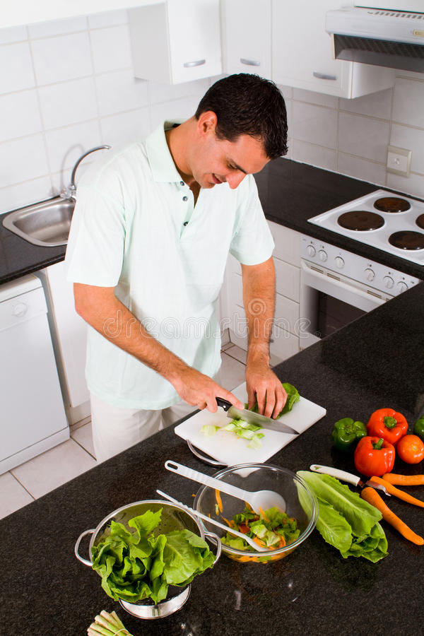 Download Preparing food stock photo. Image of cutting, lifestyle - 12823780