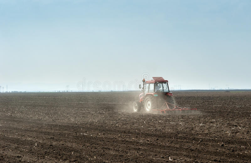 Download Preparing land for sowing stock image. Image of farmer - 23937013